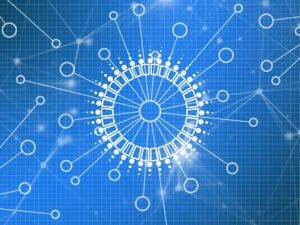 blockchain, network, technology