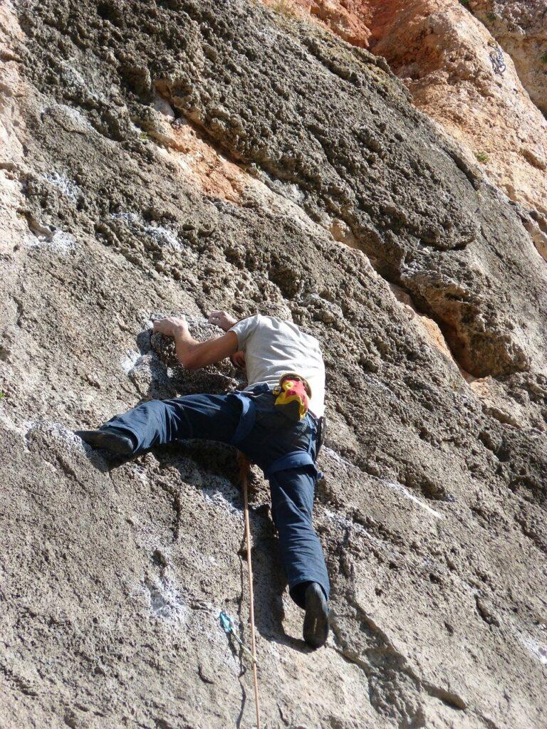 climber, rock wall, siurana