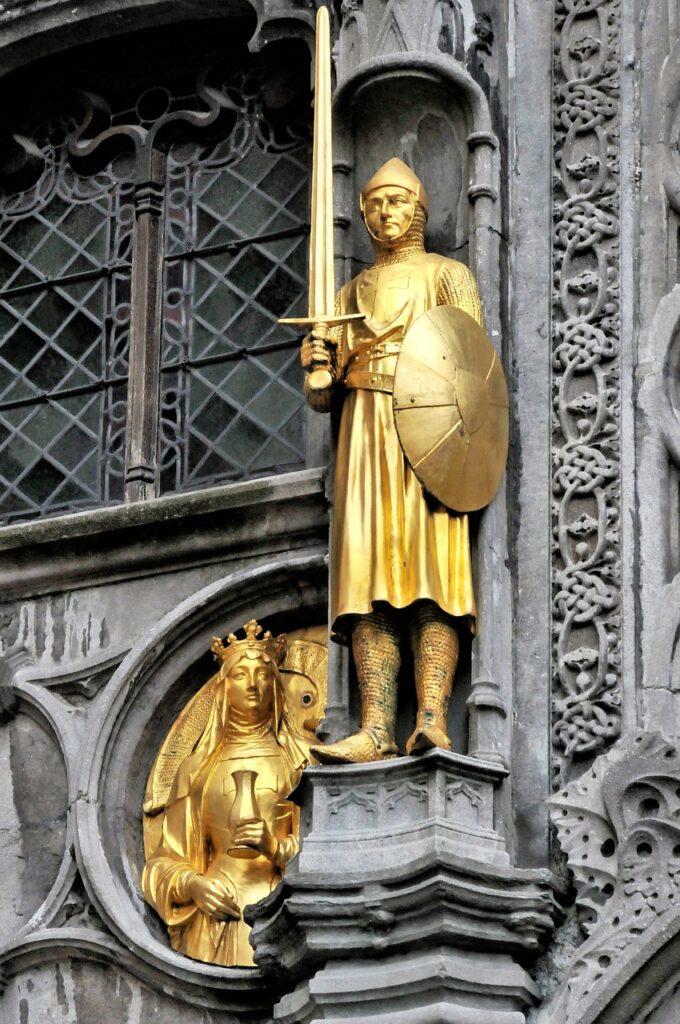 bruges, belgium, statues-3966594.jpg